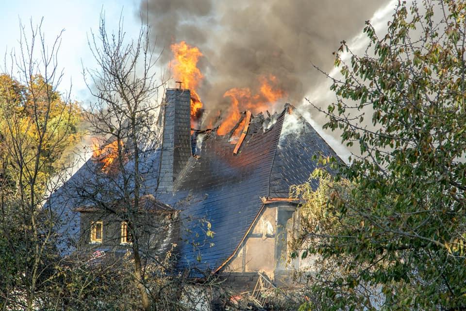 Brand beim Nachbarn